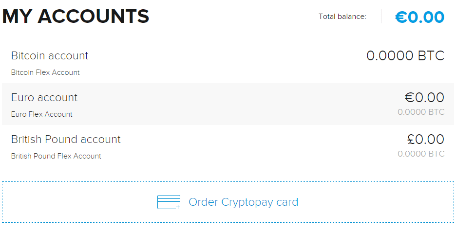 cryptopay screenshot